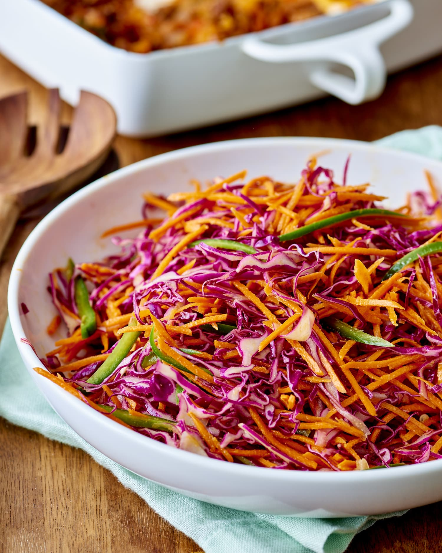 Recipe: Tangy Cabbage and Jalapeño Slaw