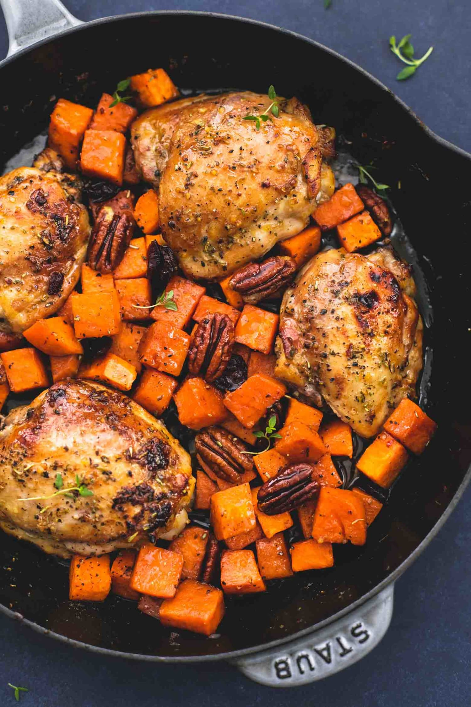 This Chicken & Sweet Potato Skillet Is Ready in 30 Minutes