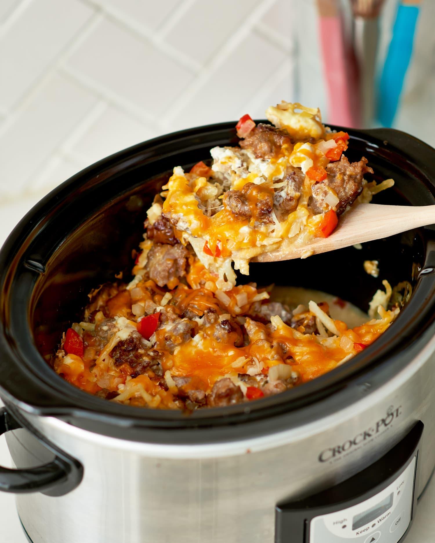 Recipe: Slow Cooker Hash Brown Casserole
