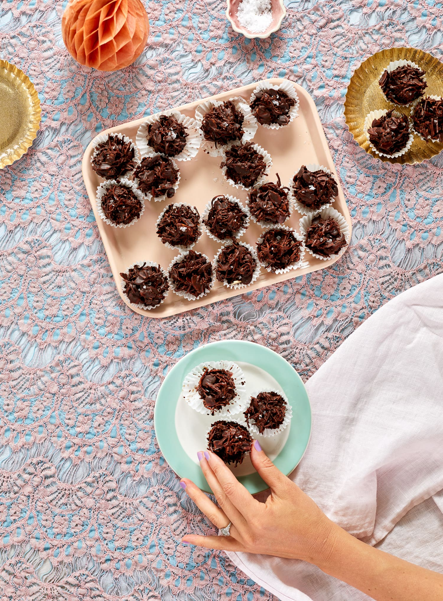 Recipe: Toasted Coconut & Almond Chocolate Clusters