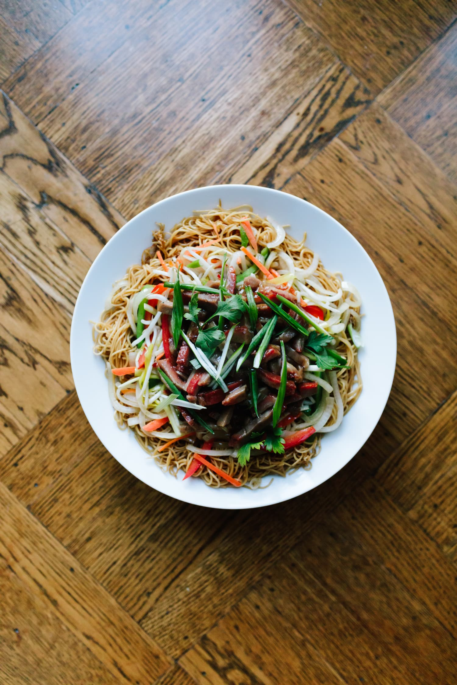Chinese Lucky Noodle Stir-Fry