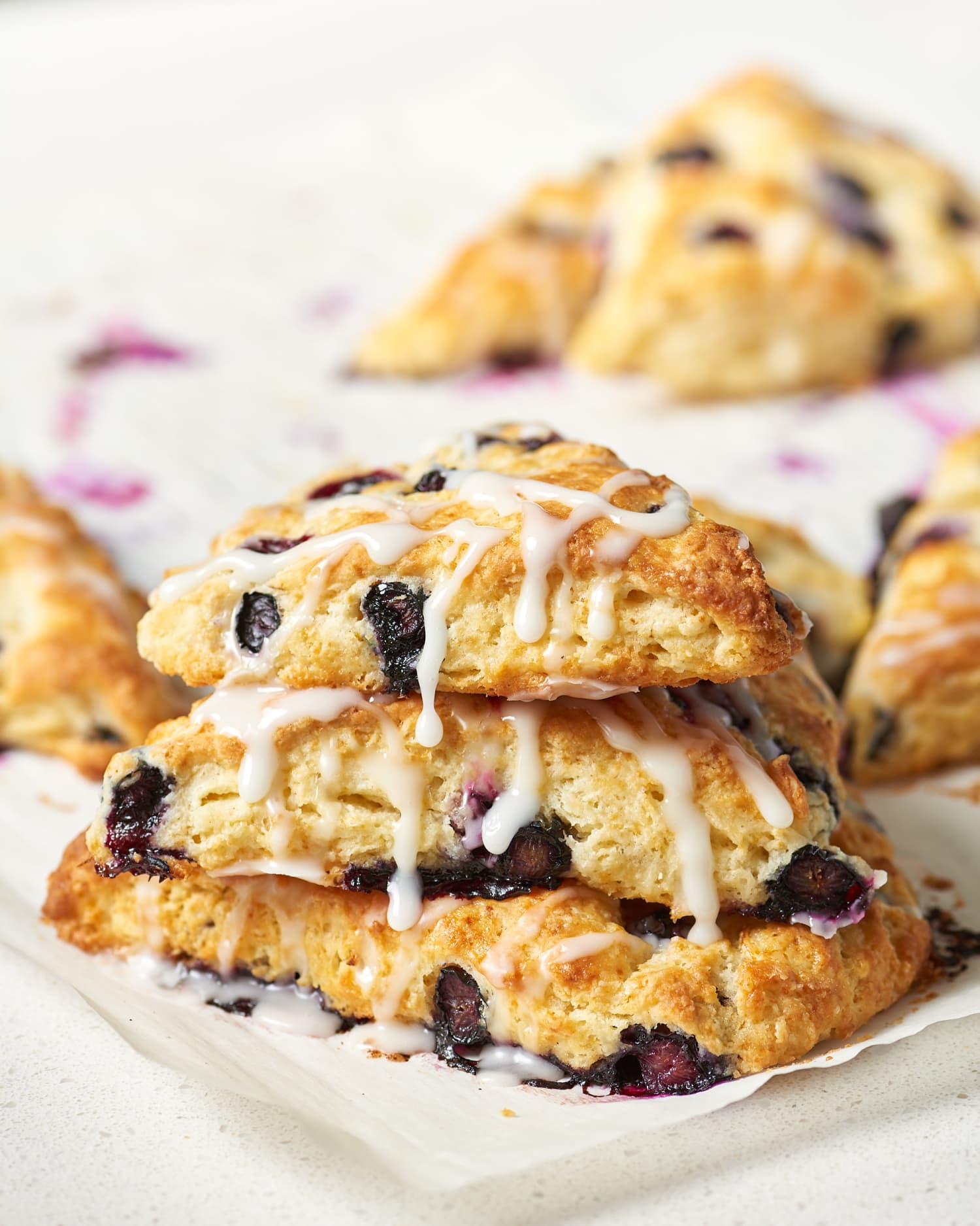 Recipe: Buttermilk Blueberry Lemon Scones