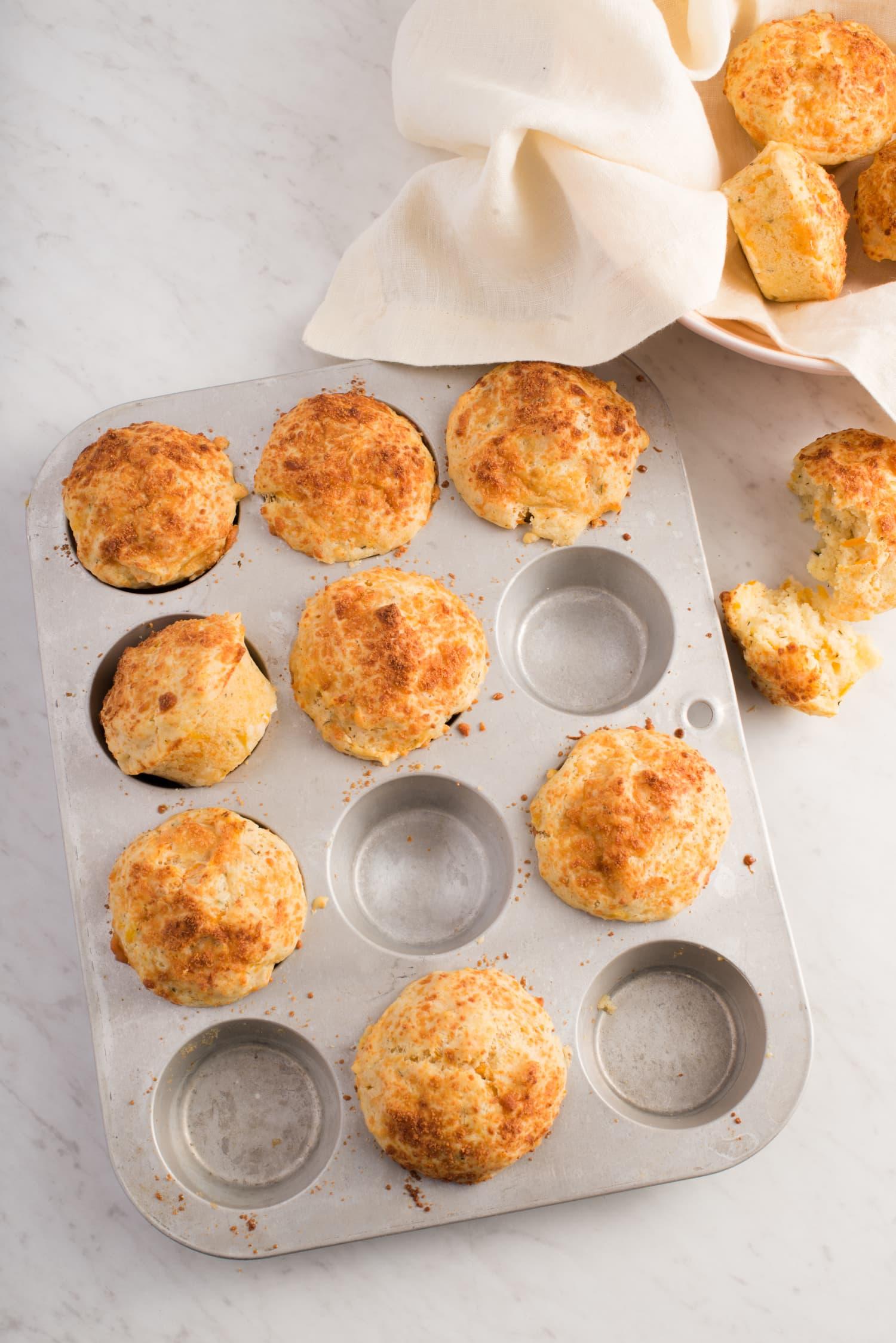 Recipe: Savory Sweet Potato & Parmesan Muffins