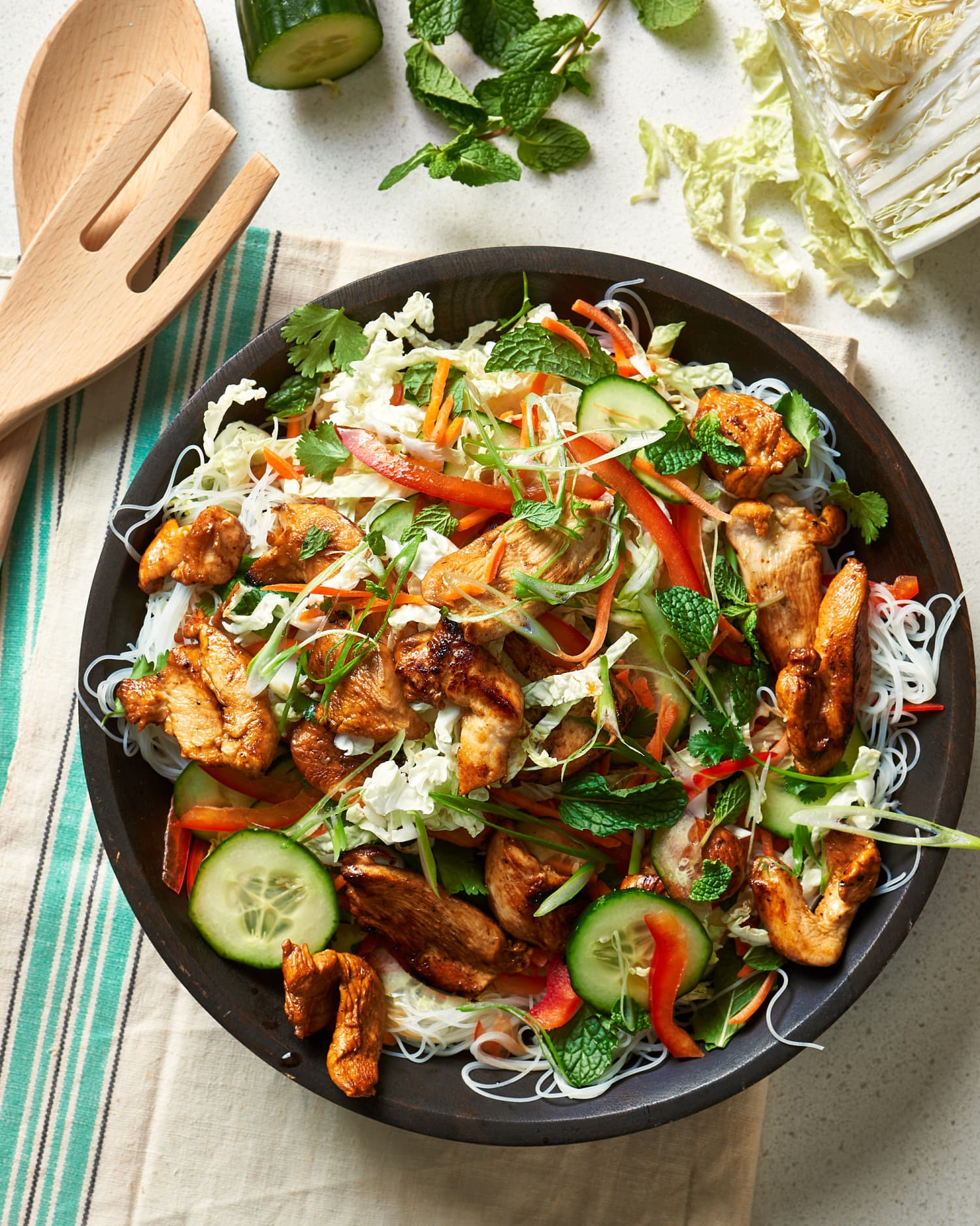 Recipe: Vietnamese-Style Chicken & Noodle Salad