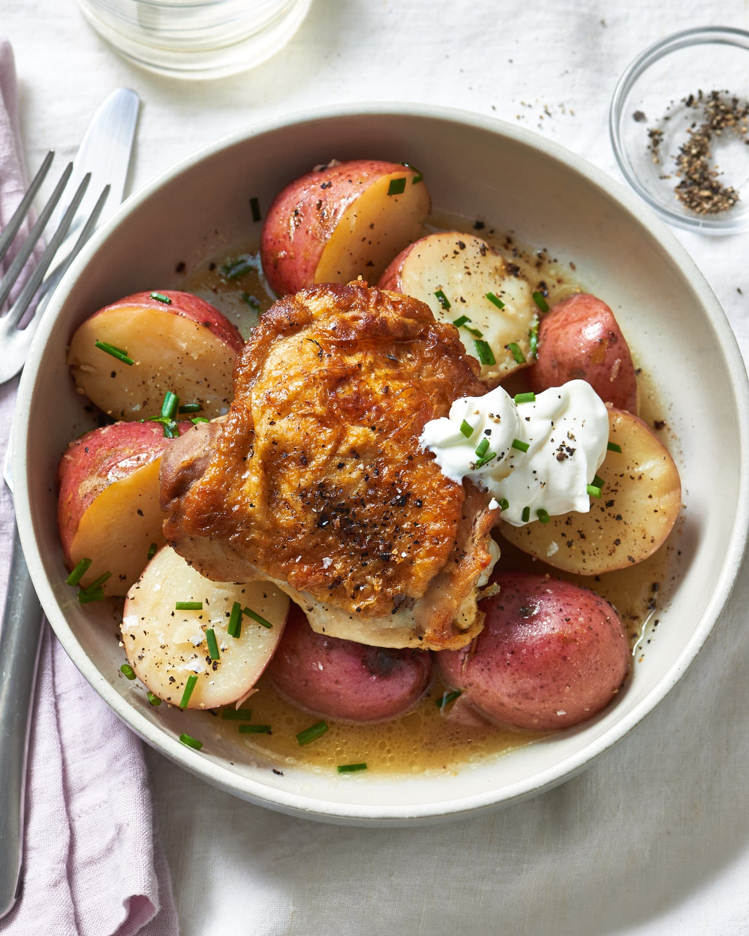 Recipe: Buttery Slow Cooker Chicken & Potatoes