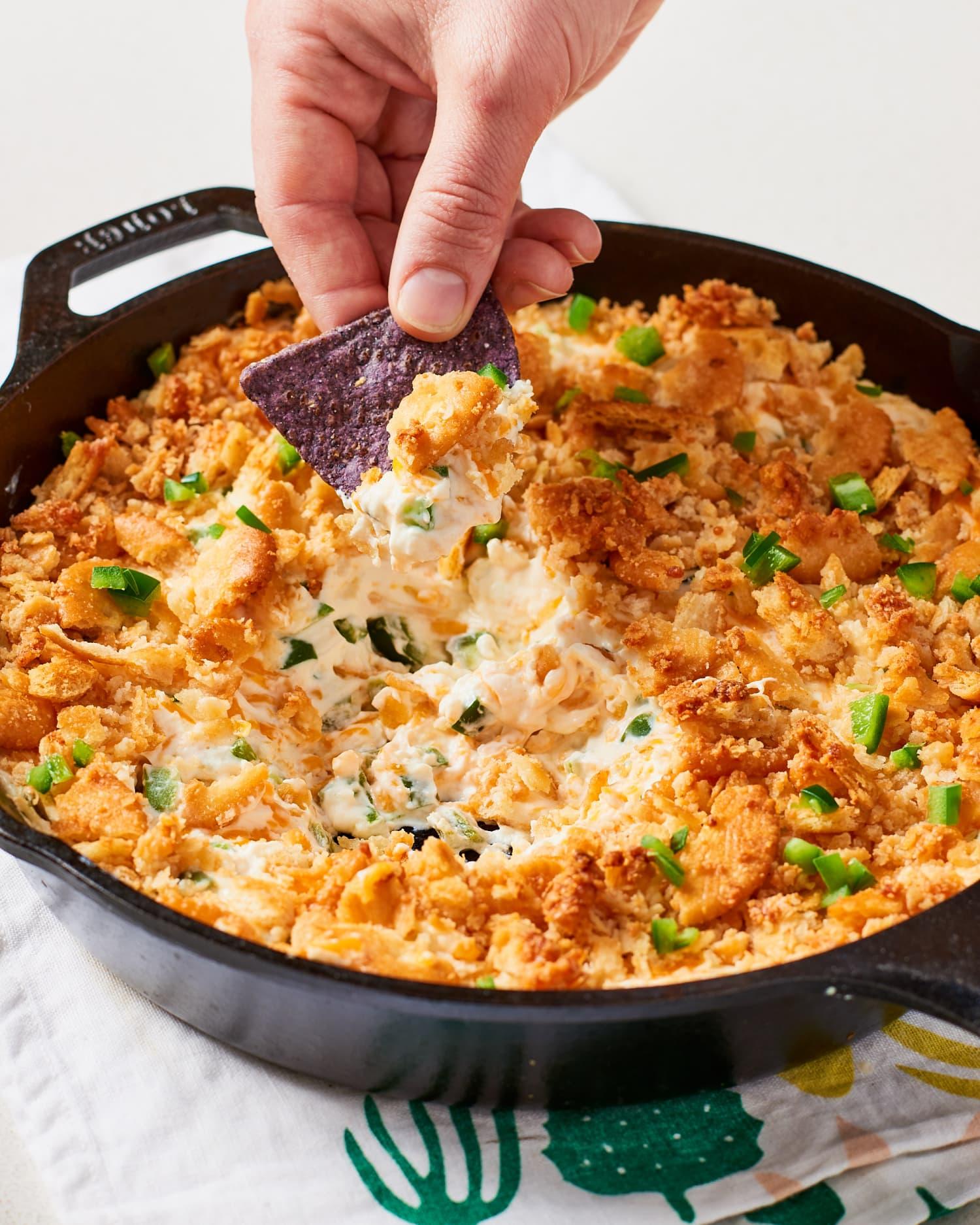 Recipe: Baked Jalapeño Popper Dip