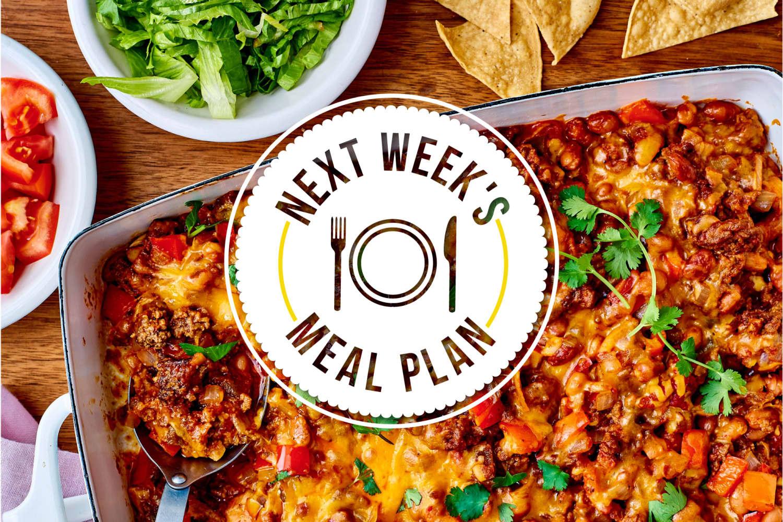 Next Week's Meal Plan: 5 Easy Summer Dinners Everyone Will Eat