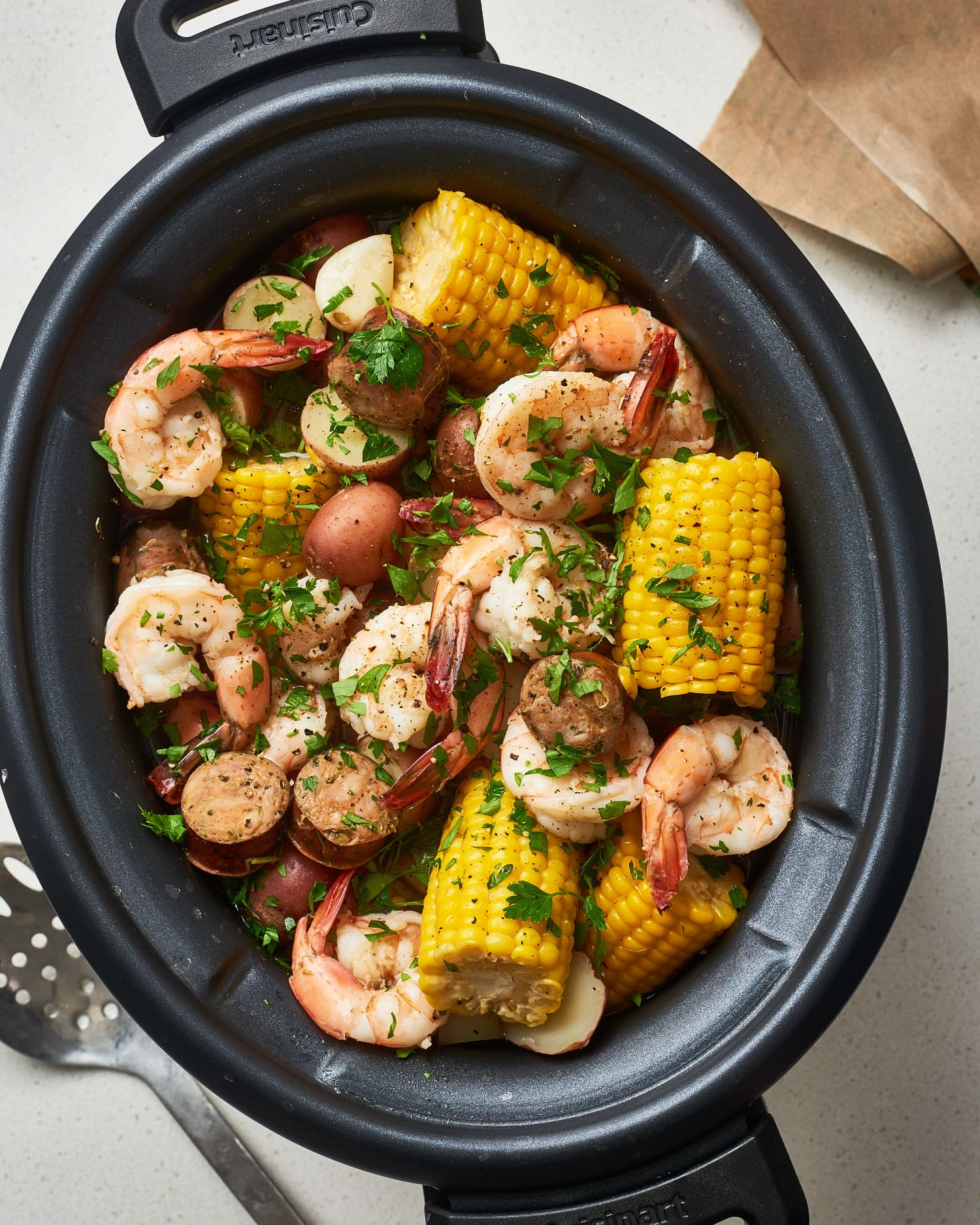 How To Make the Best Shrimp Boil in the Slow Cooker