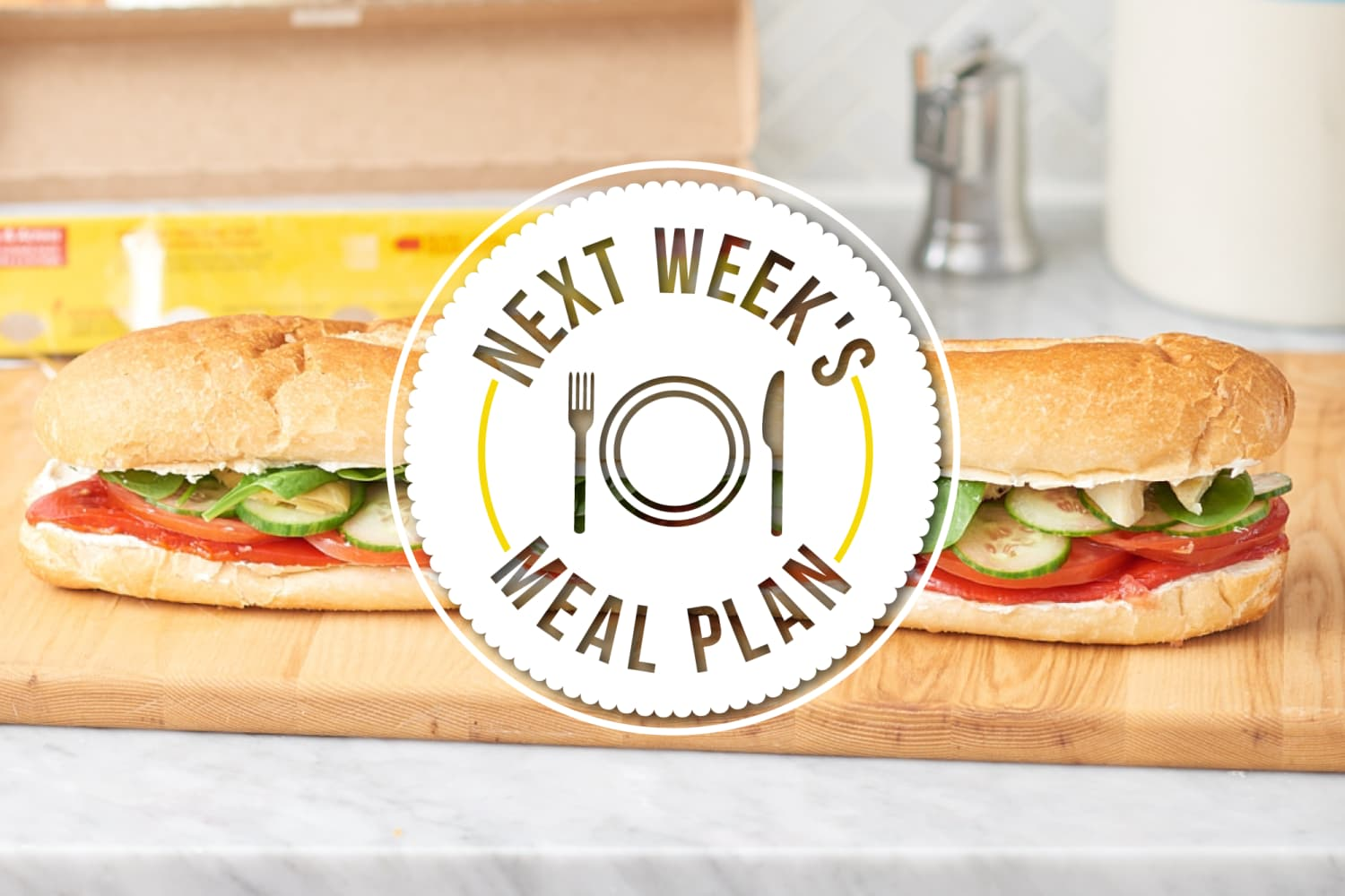 Next Week's Meal Plan: 5 No-Cook Dinners for When It's Too Hot to Cook