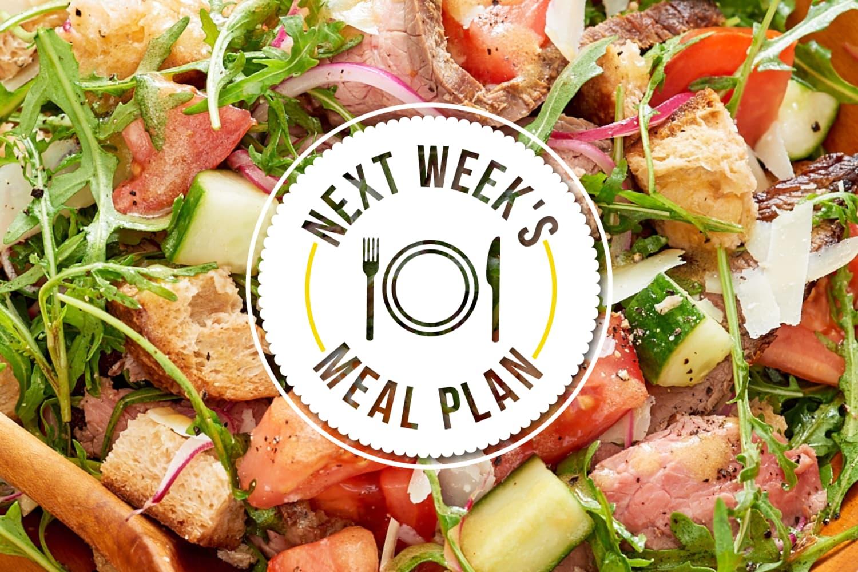 Next Week's Meal Plan: 5 Fresh & Easy Summer Dinners