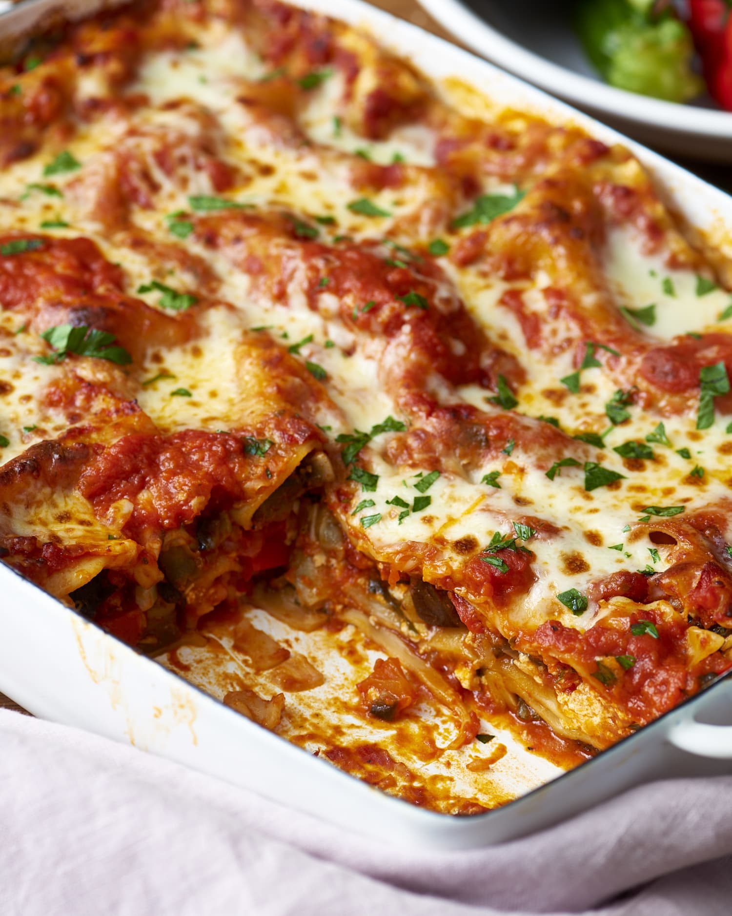 This Lasagna Has a Zucchini Lattice (and It's Stunning)