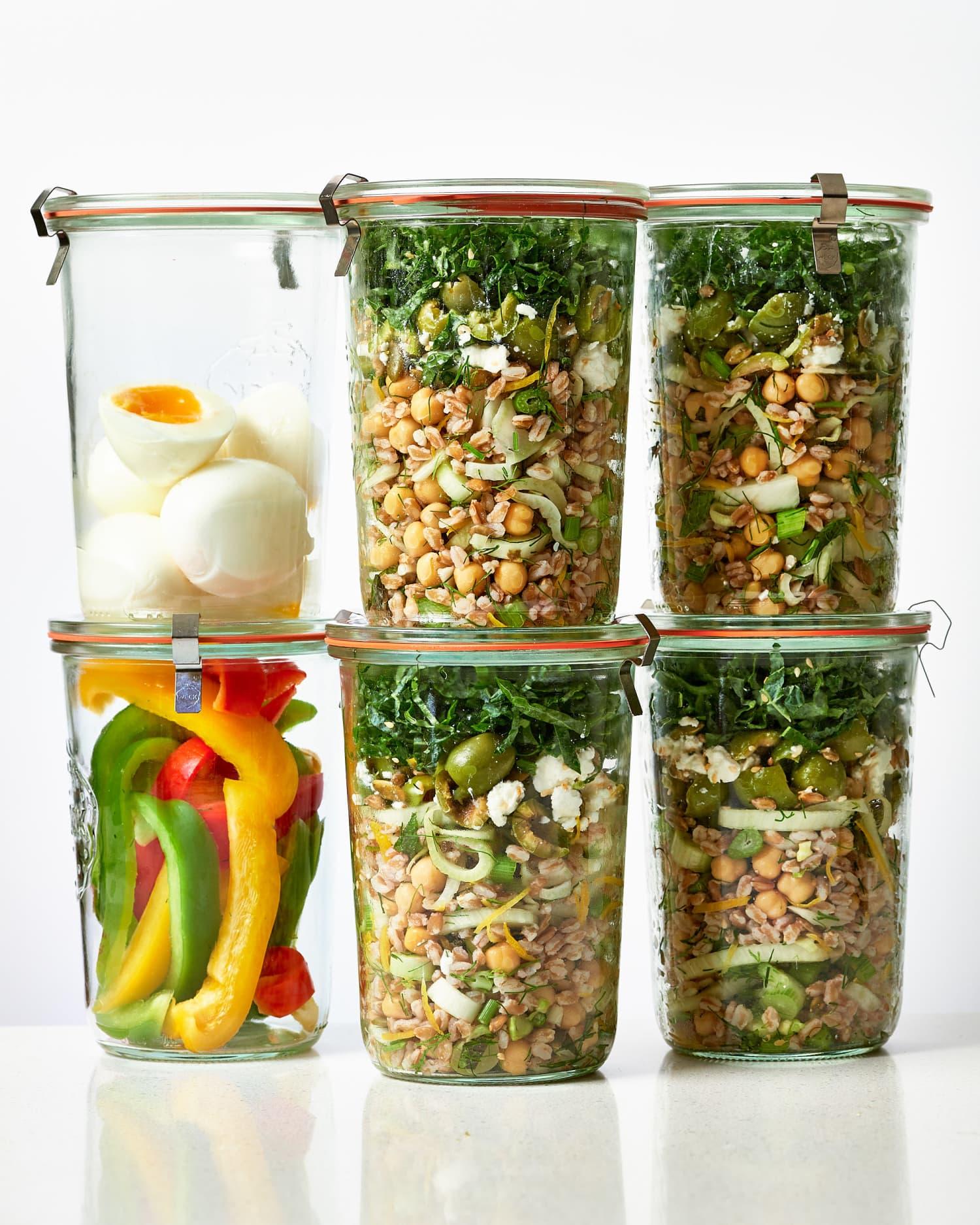 Meal Prep Plan: A Week of Easy Vegetarian Meals