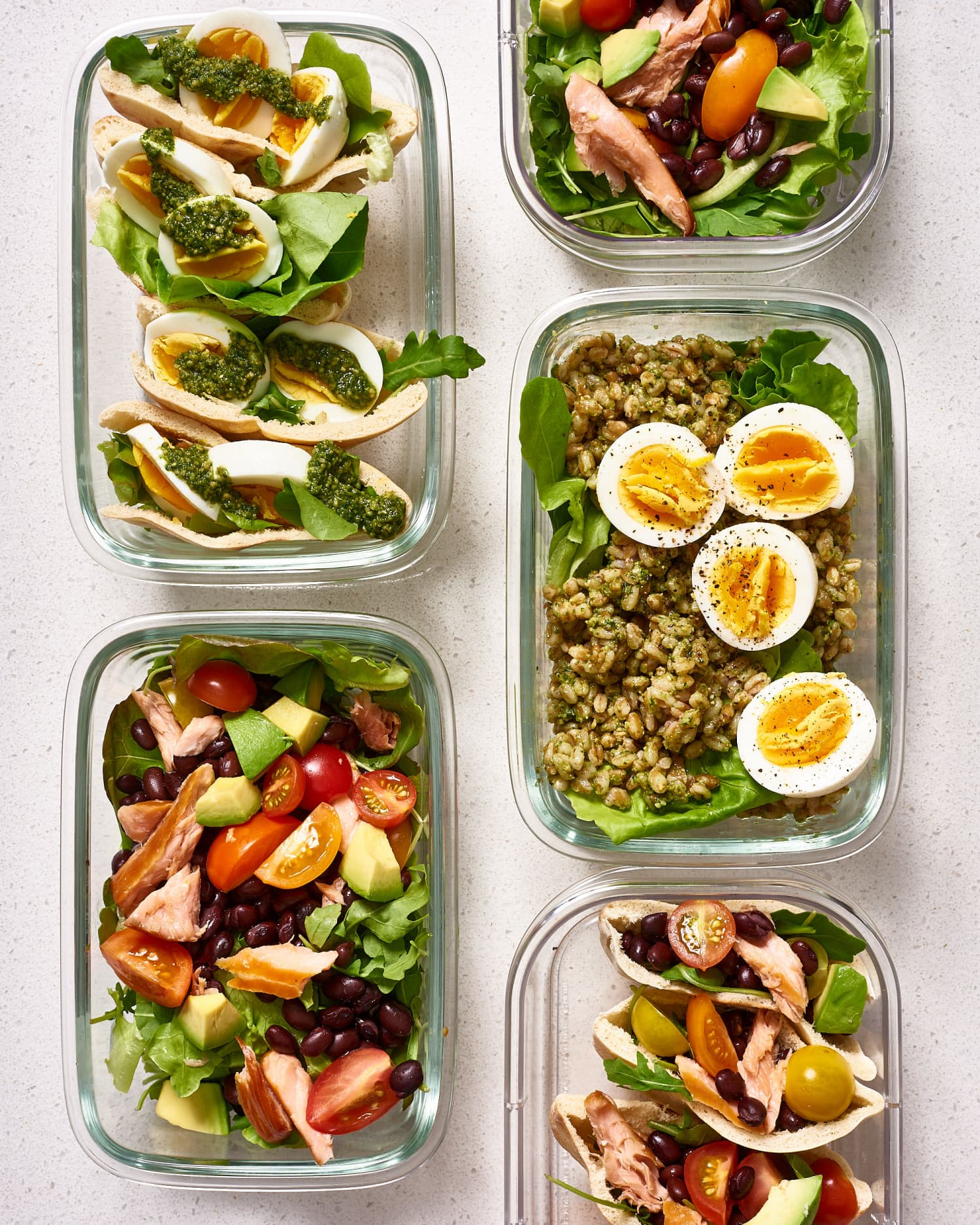 Meal Prep Plan: A Week of Easy 1500-Calorie Days
