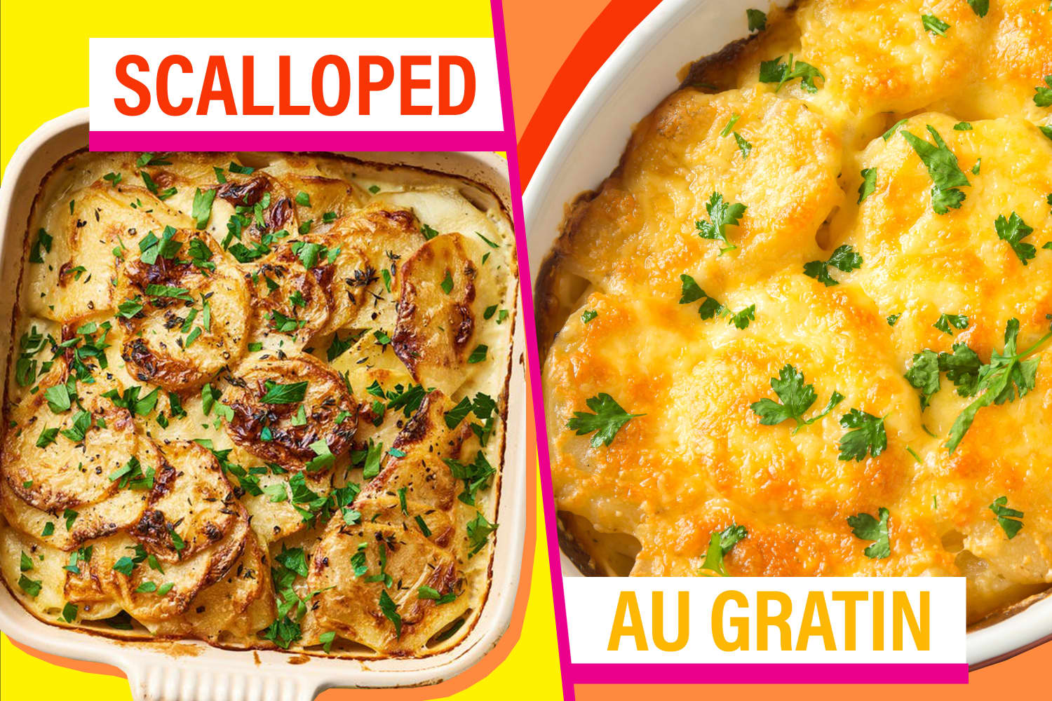 What's the Difference Between Scalloped and Au Gratin Potatoes?