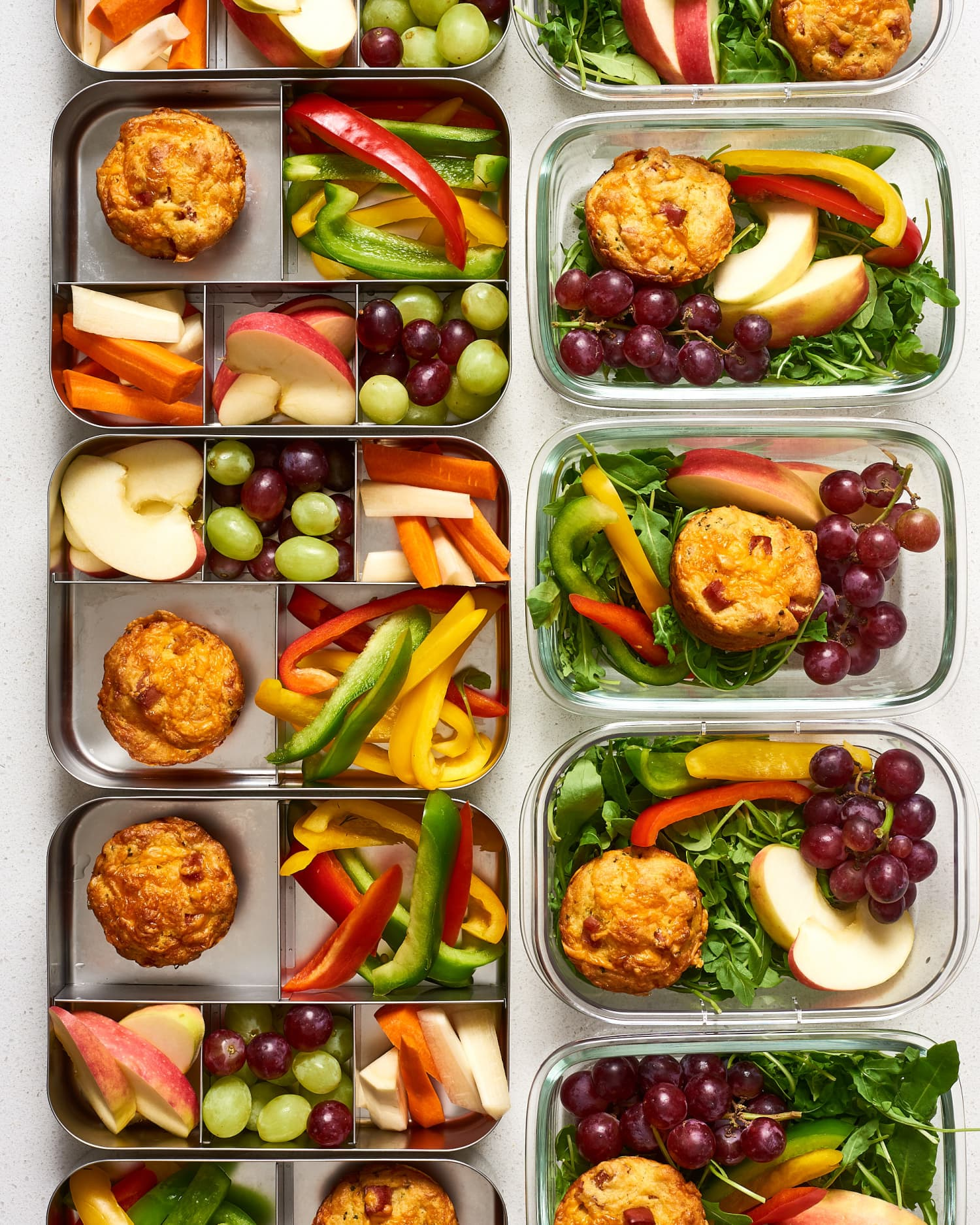Meal Prep Plan: A Week of Easy Breakfasts & Lunches for 4