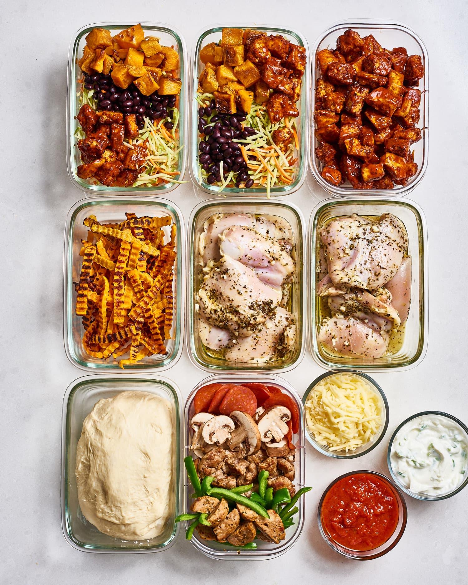 Meal Prep Plan: A Week of Easy Sheet Pan Meals