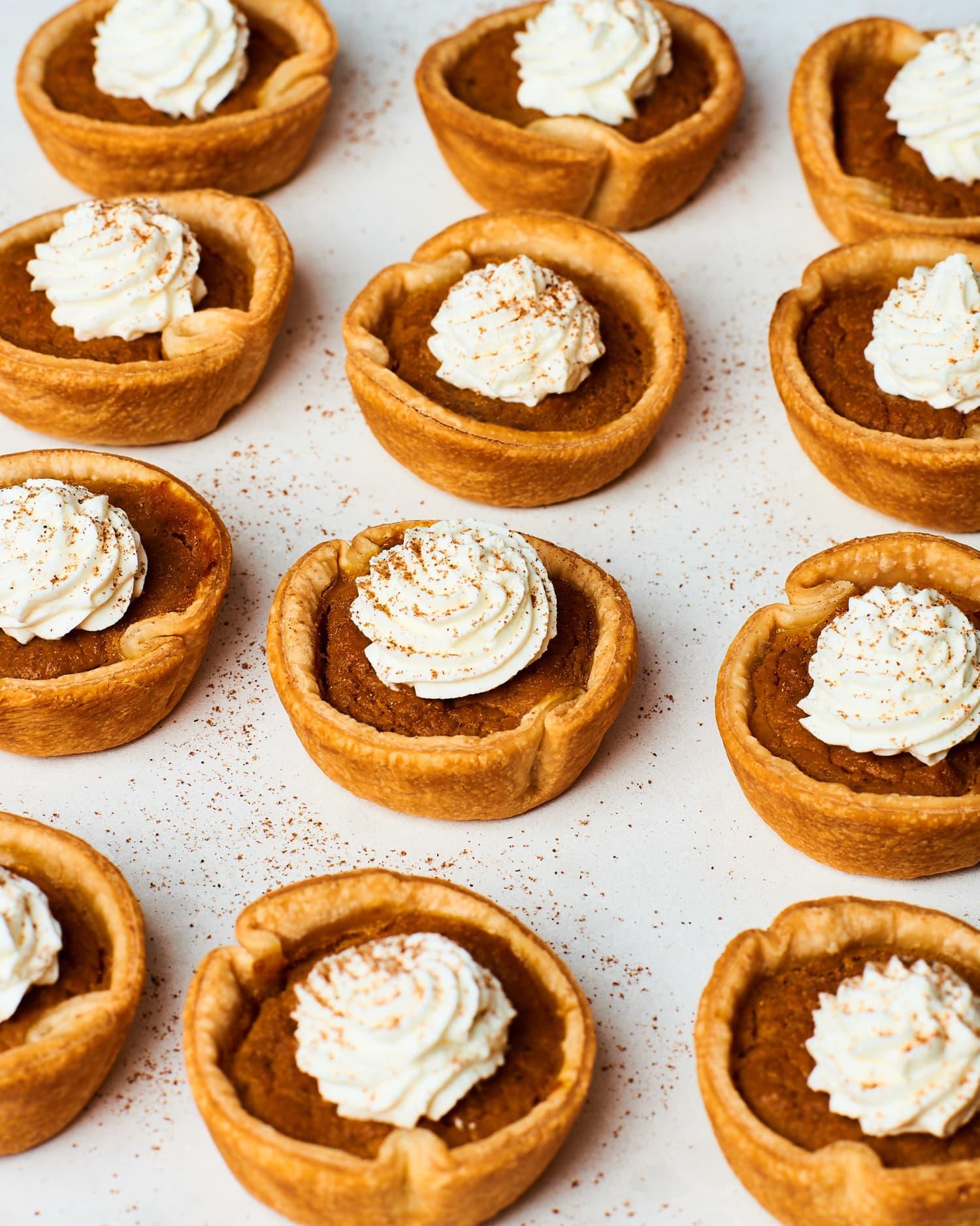 How To Make Easy 5-Ingredient Mini Pumpkin Pies