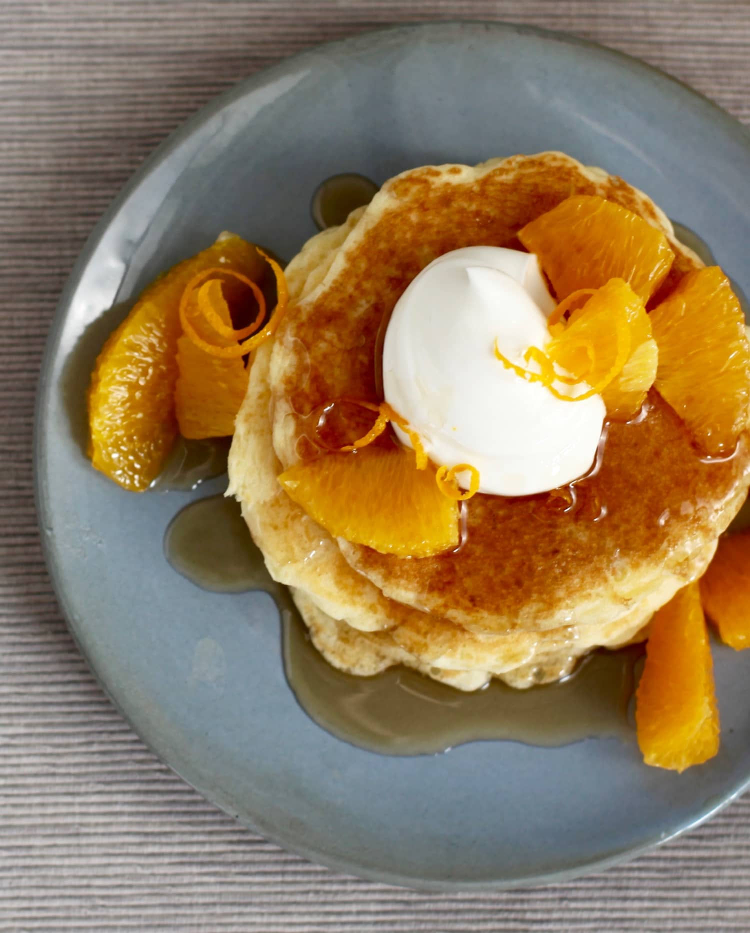 Make Weekend Mornings Delicious with Orange-Ginger Pancakes