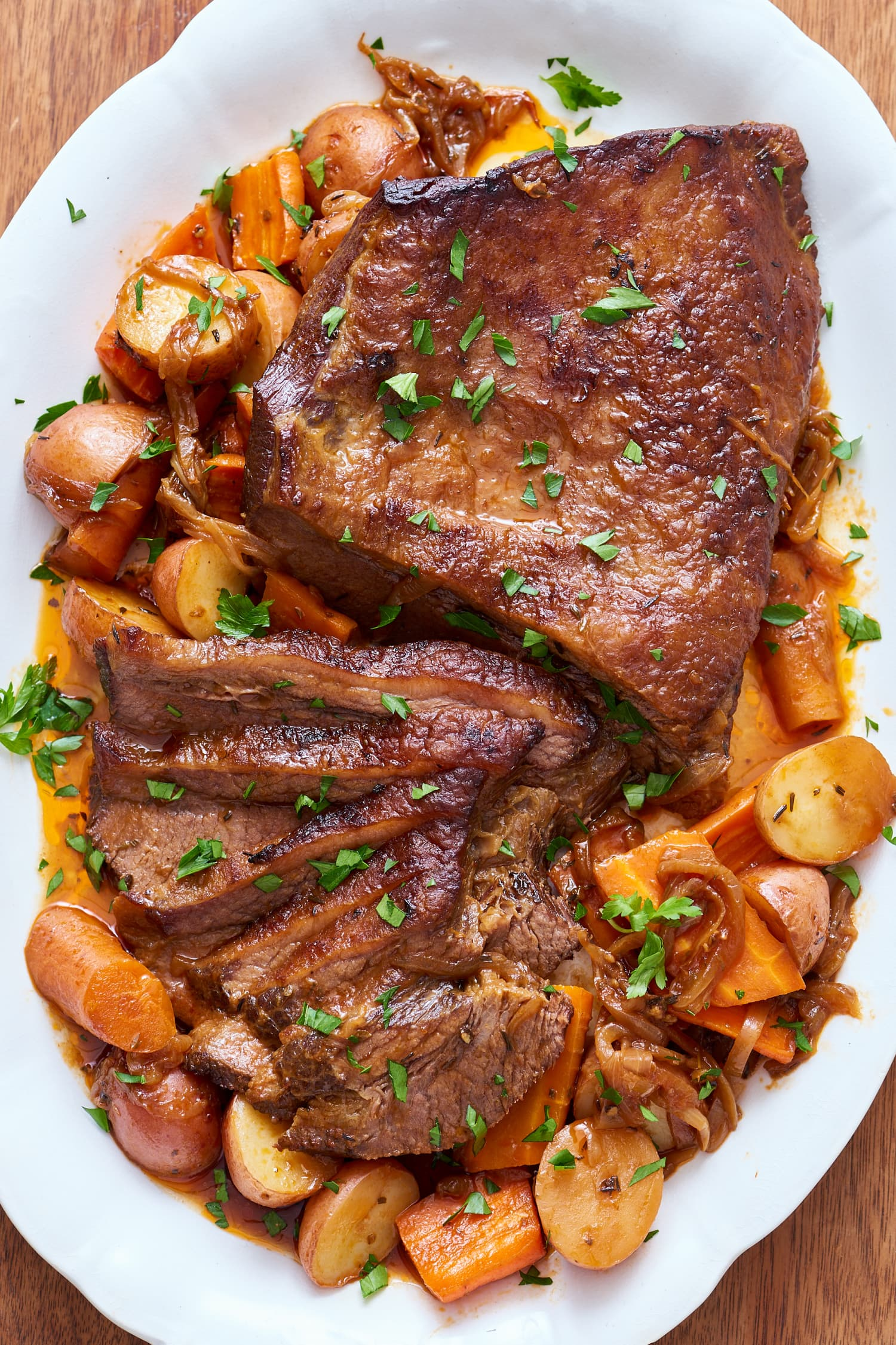 How To Cook Classic Beef Brisket in the Slow Cooker