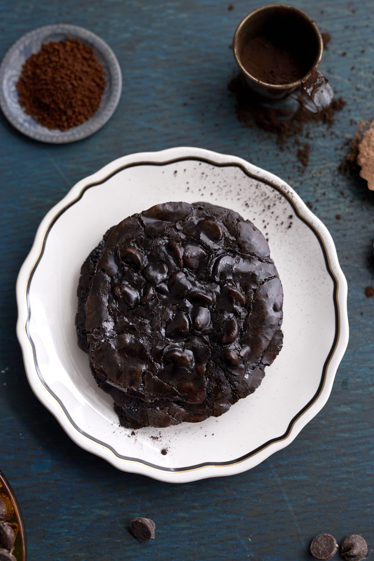 How To Make Flourless Chocolate Cookies