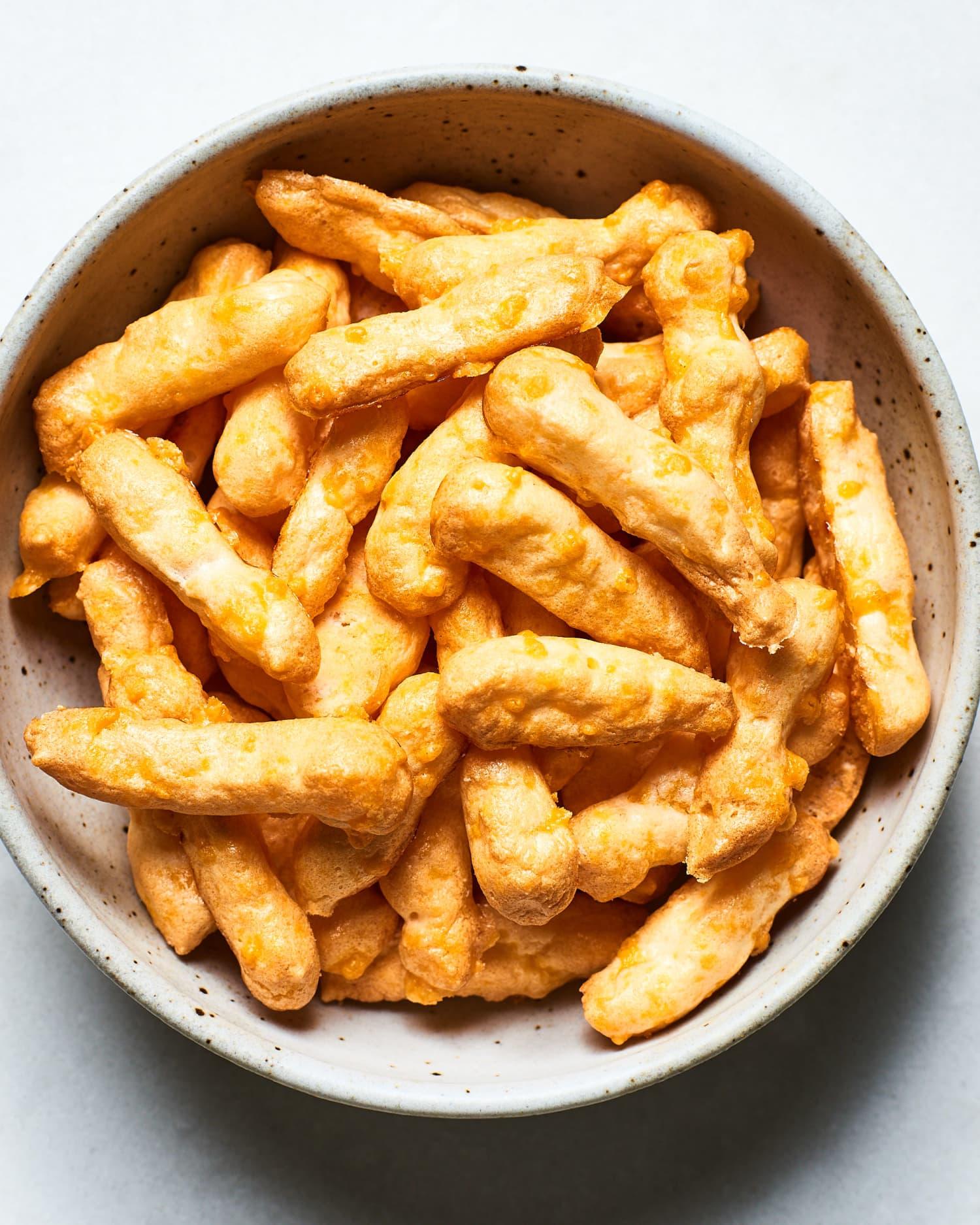 Recipe: 4-Ingredient Keto Cheetos