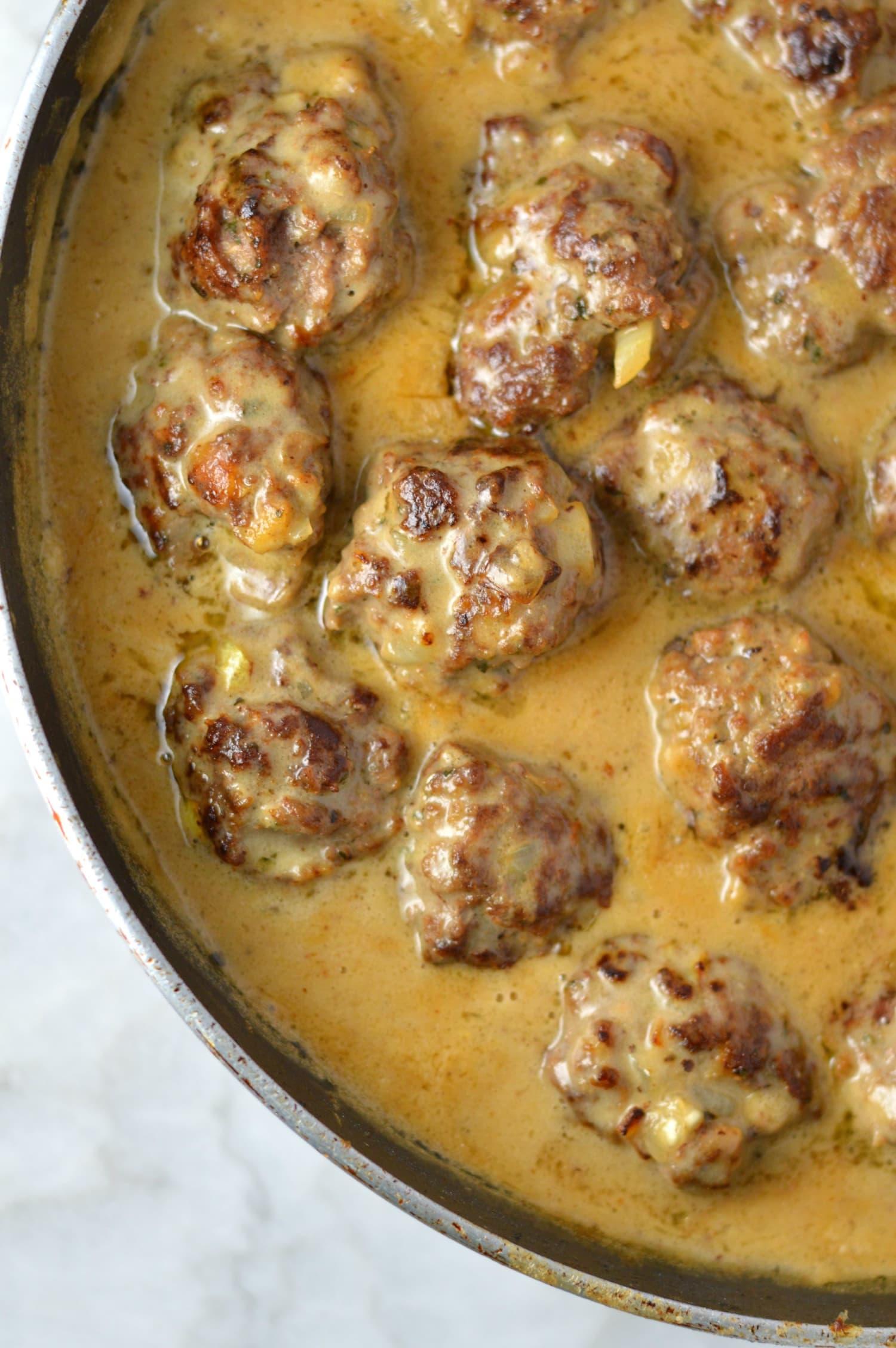 These Meatballs in Dijon Gravy Are Dinner Goals