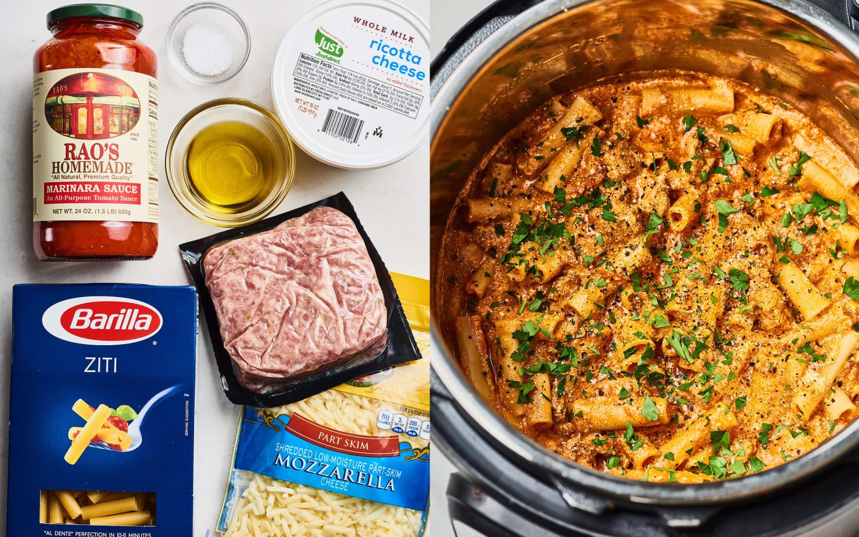 Recipe: Instant Pot Baked Ziti