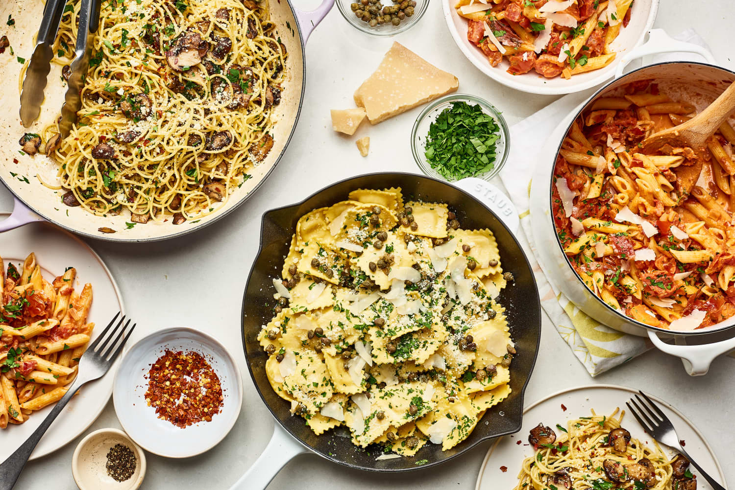 Every Single Pasta Recipe You Could Ever Need (All in One Place)