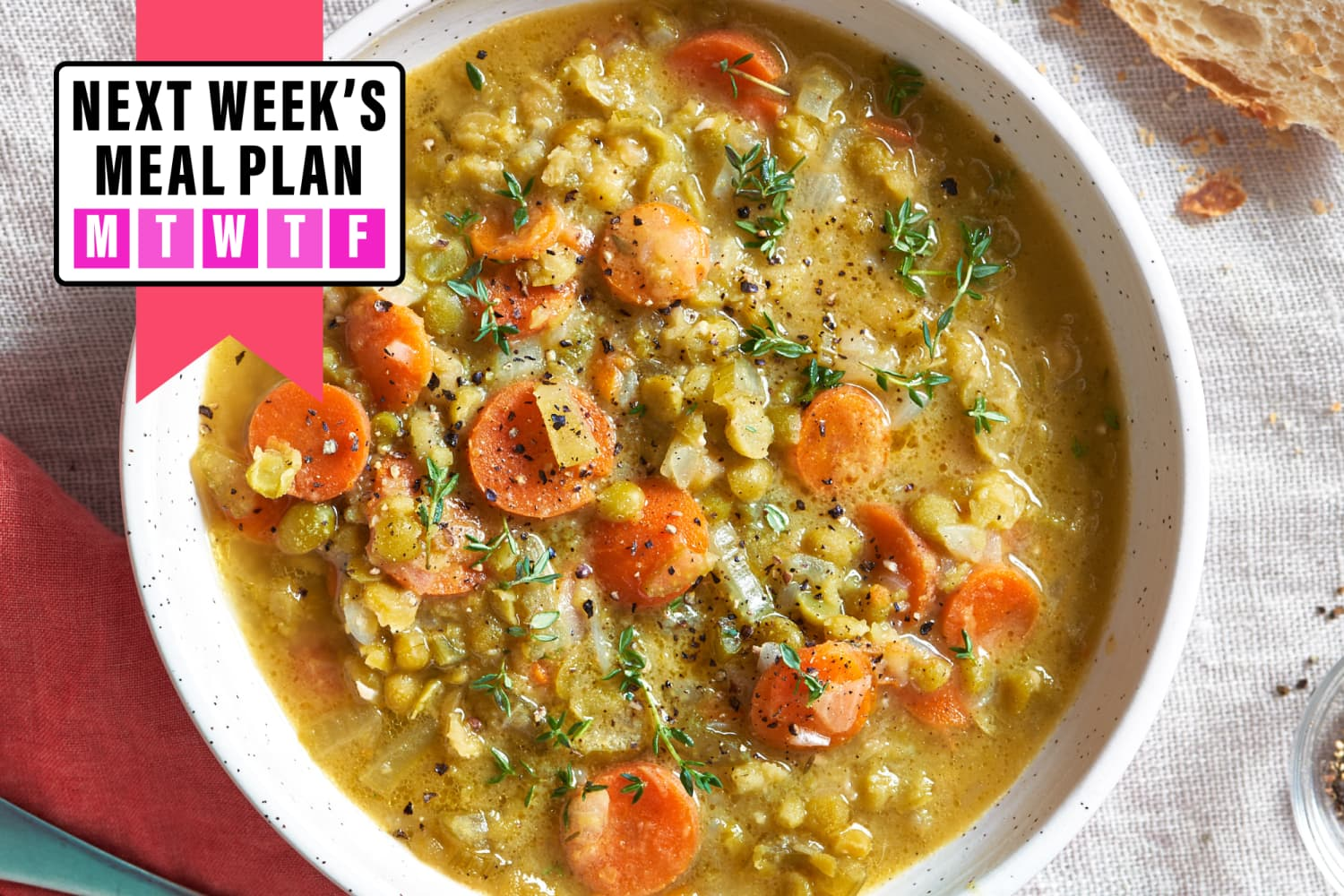 Next Week's Meal Plan: 5 Feel-Good Dinners for the Week Ahead