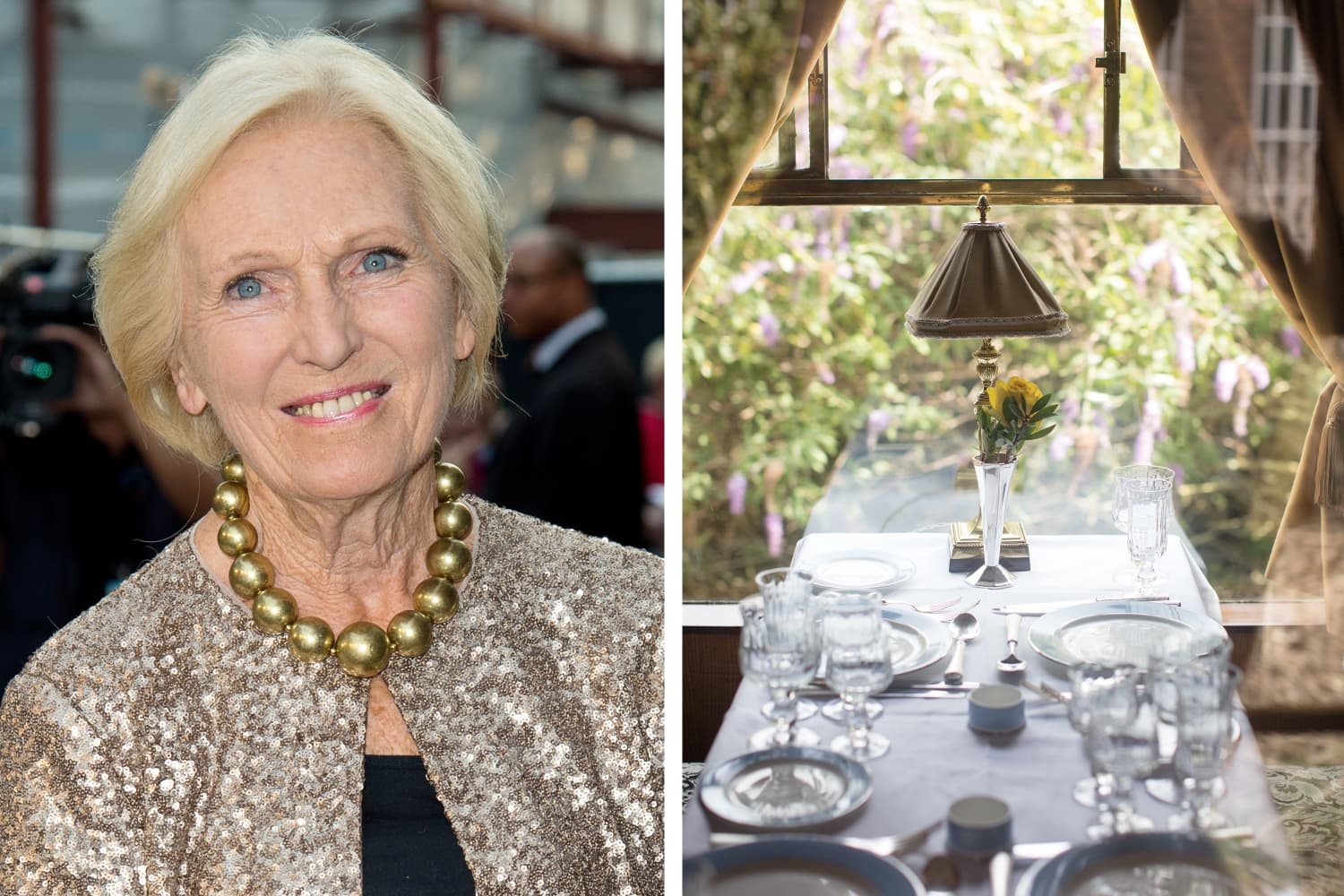 "Here's How to Join ""Great British Bake Off"" Host Mary Berry on a Train for Afternoon Tea"