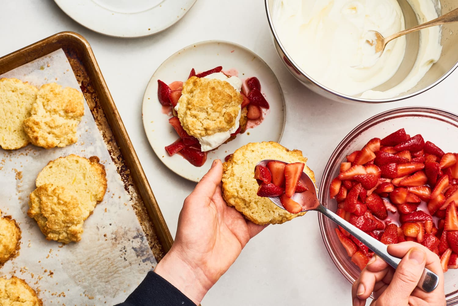 How To Make the Easiest Strawberry Shortcake