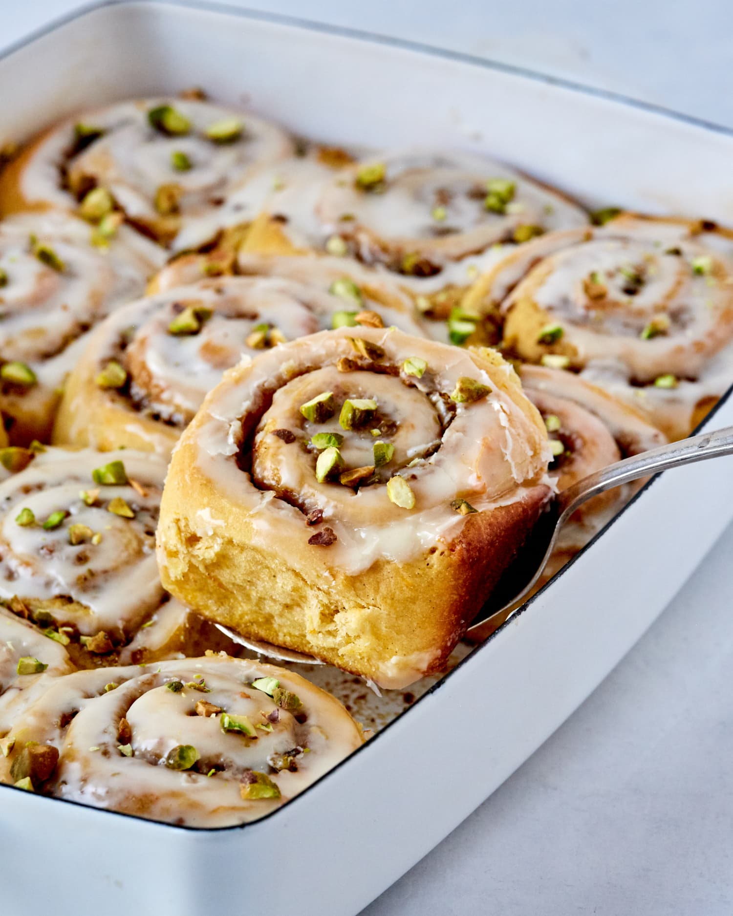 Sweet Potato Cardamom Buns with Pistachio and Orange Are Foolproof