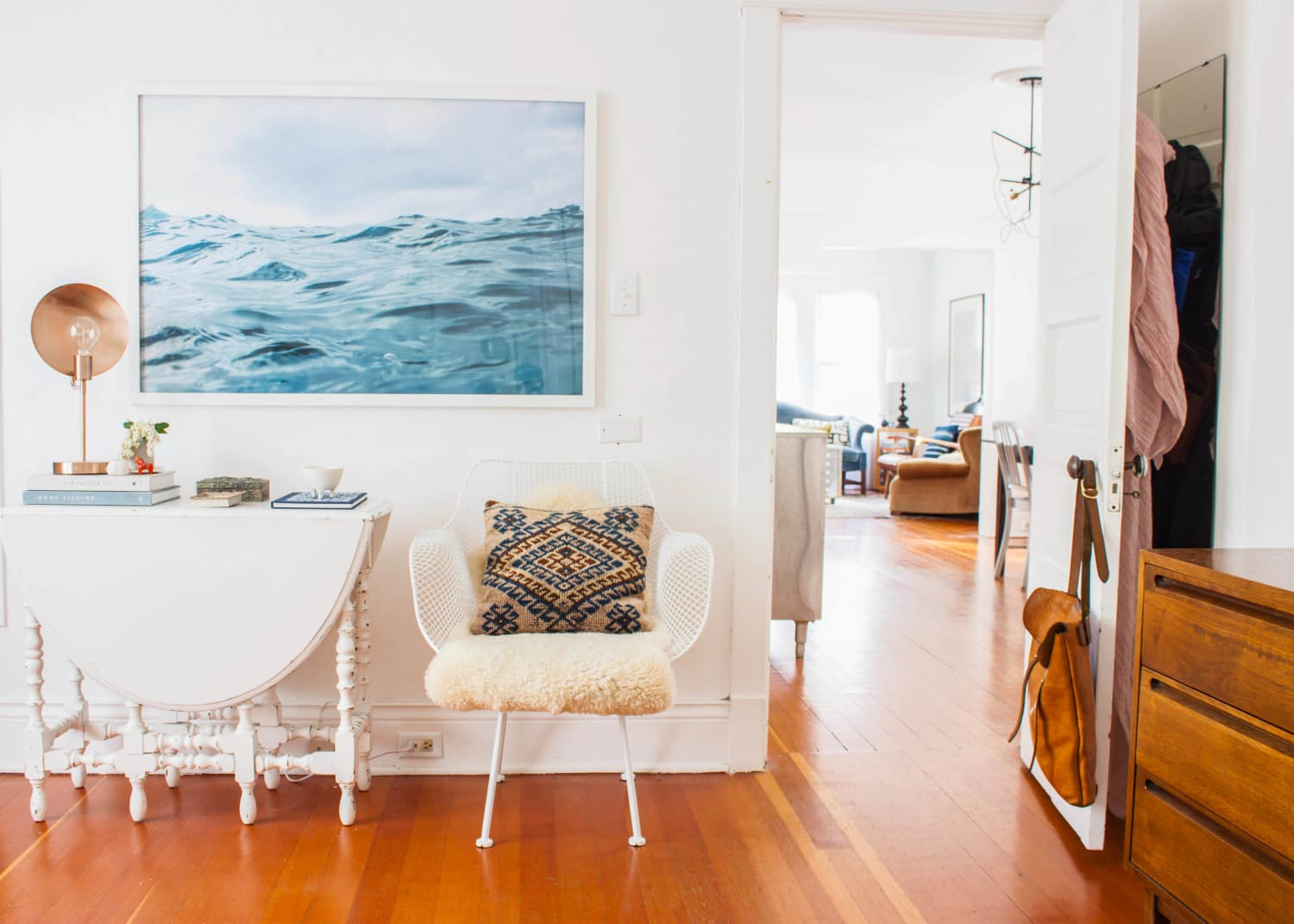 The Right Way to Hang Art Every Time & Not Screw It Up