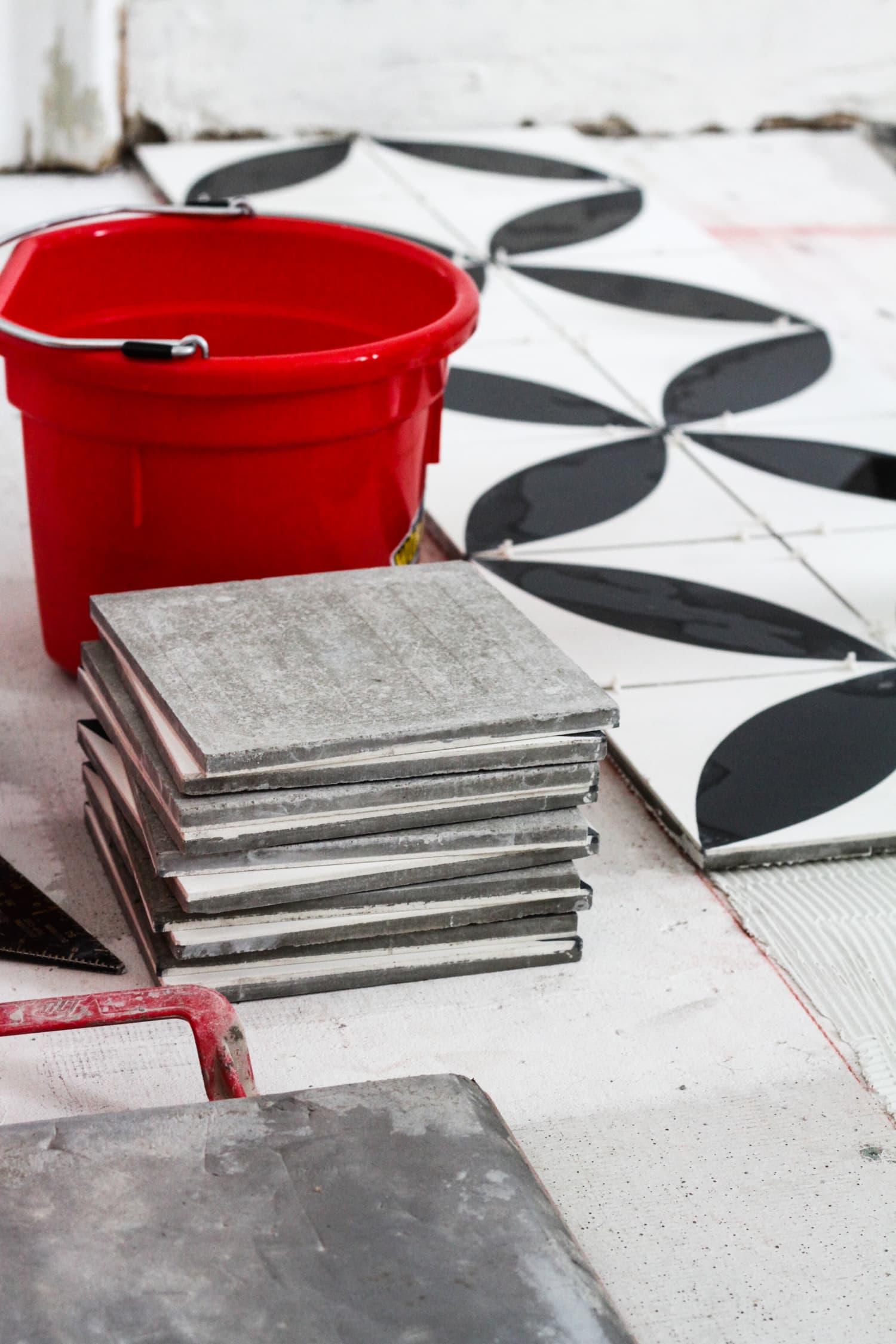 How To Tile a Bathroom Floor