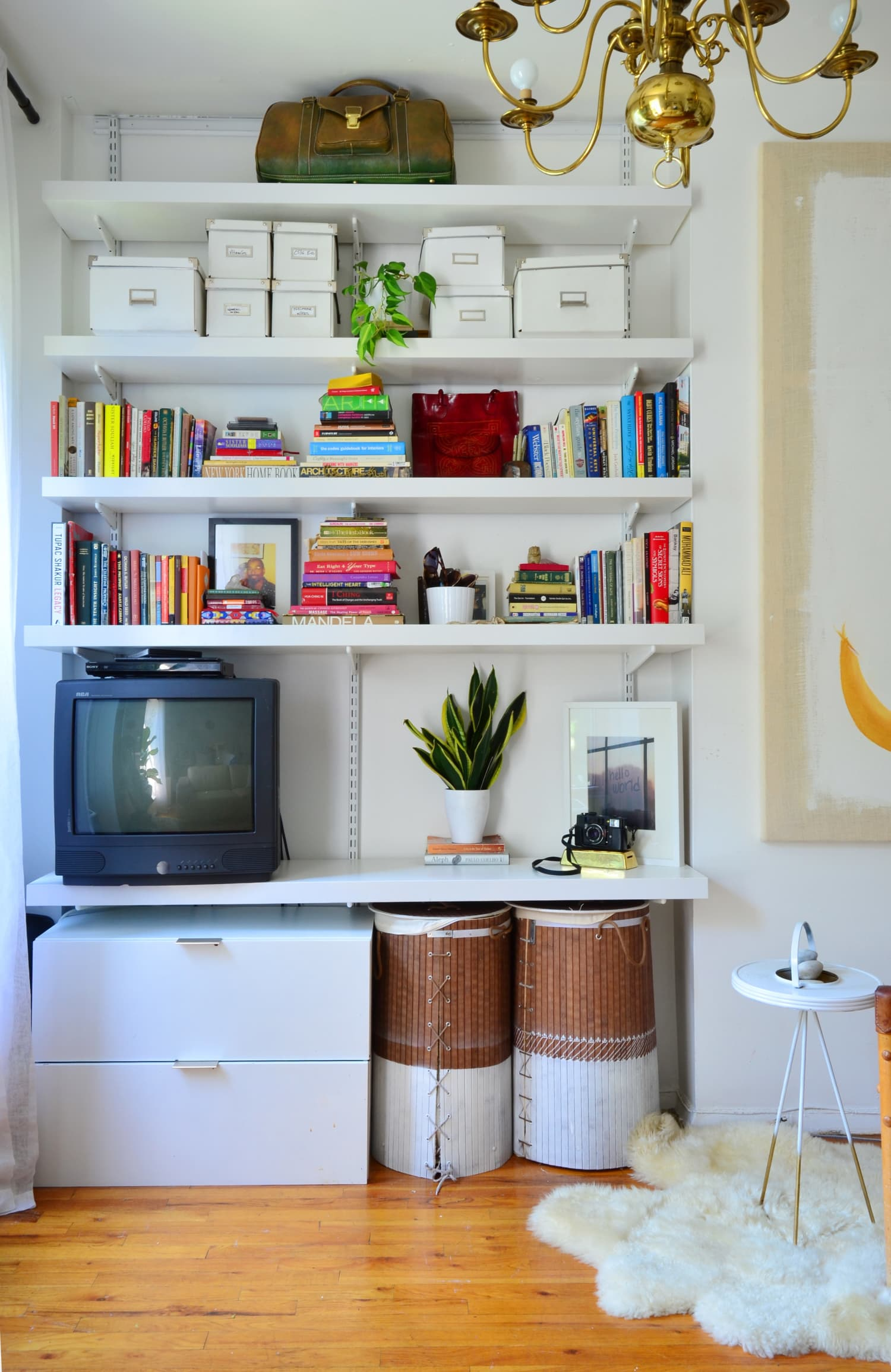 Shelf Help: Strategies to Style Your Open Shelves (And Keep Them Looking Neat)