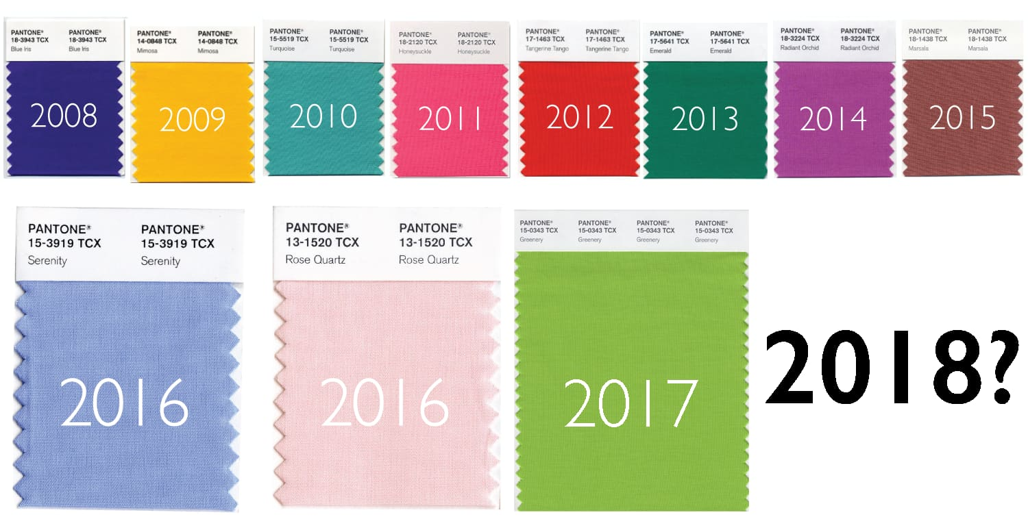 This Is Pantone's Color of the Year 2018