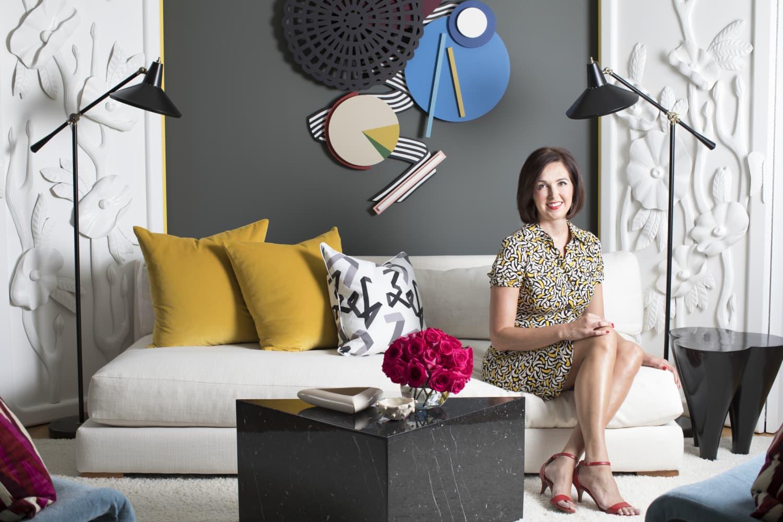 Peek Inside Angela Blehm's 'Pop Art Meets Postmodern' Home