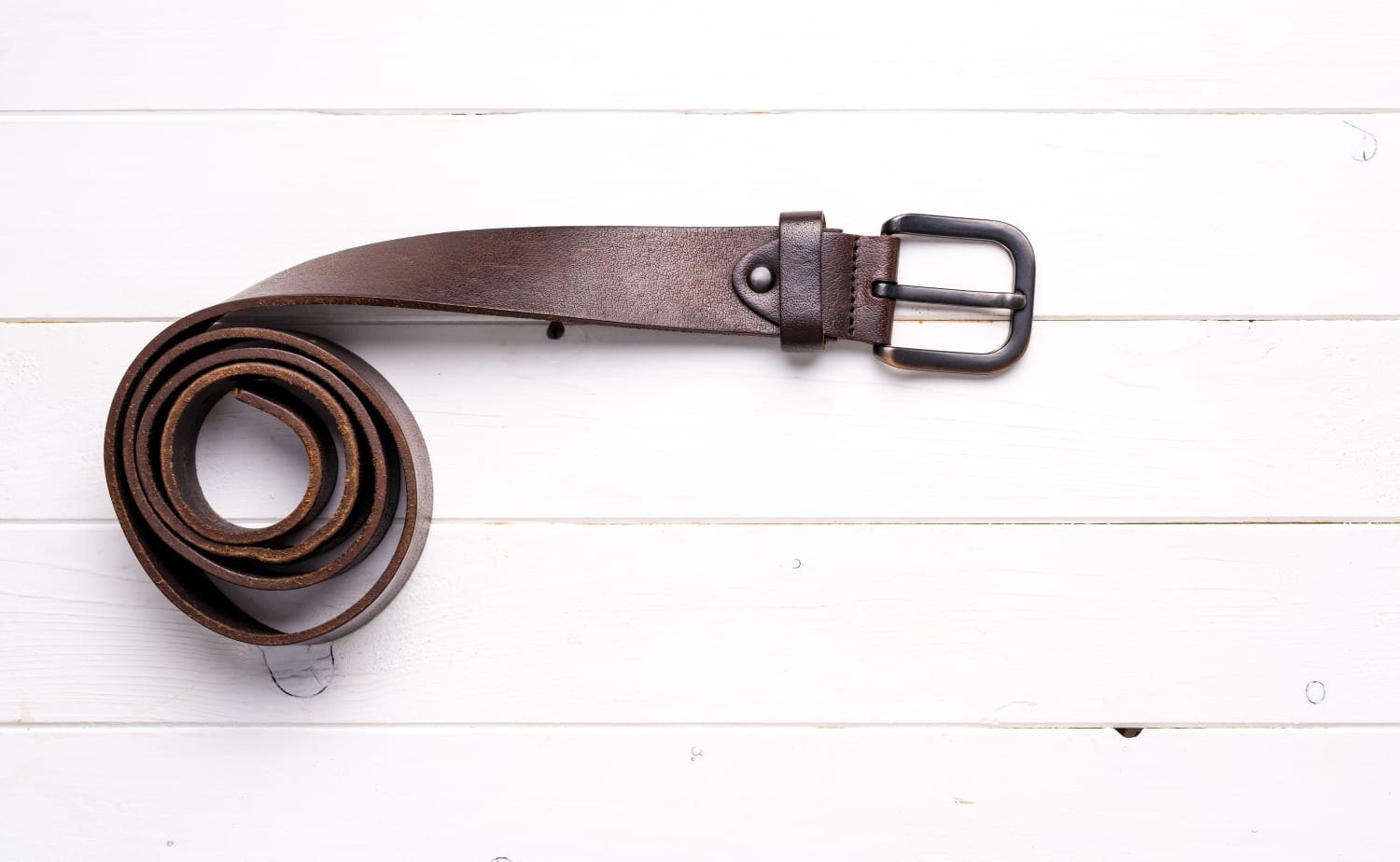 Don't Get Rid of the Old Leather Belts in Your Closet