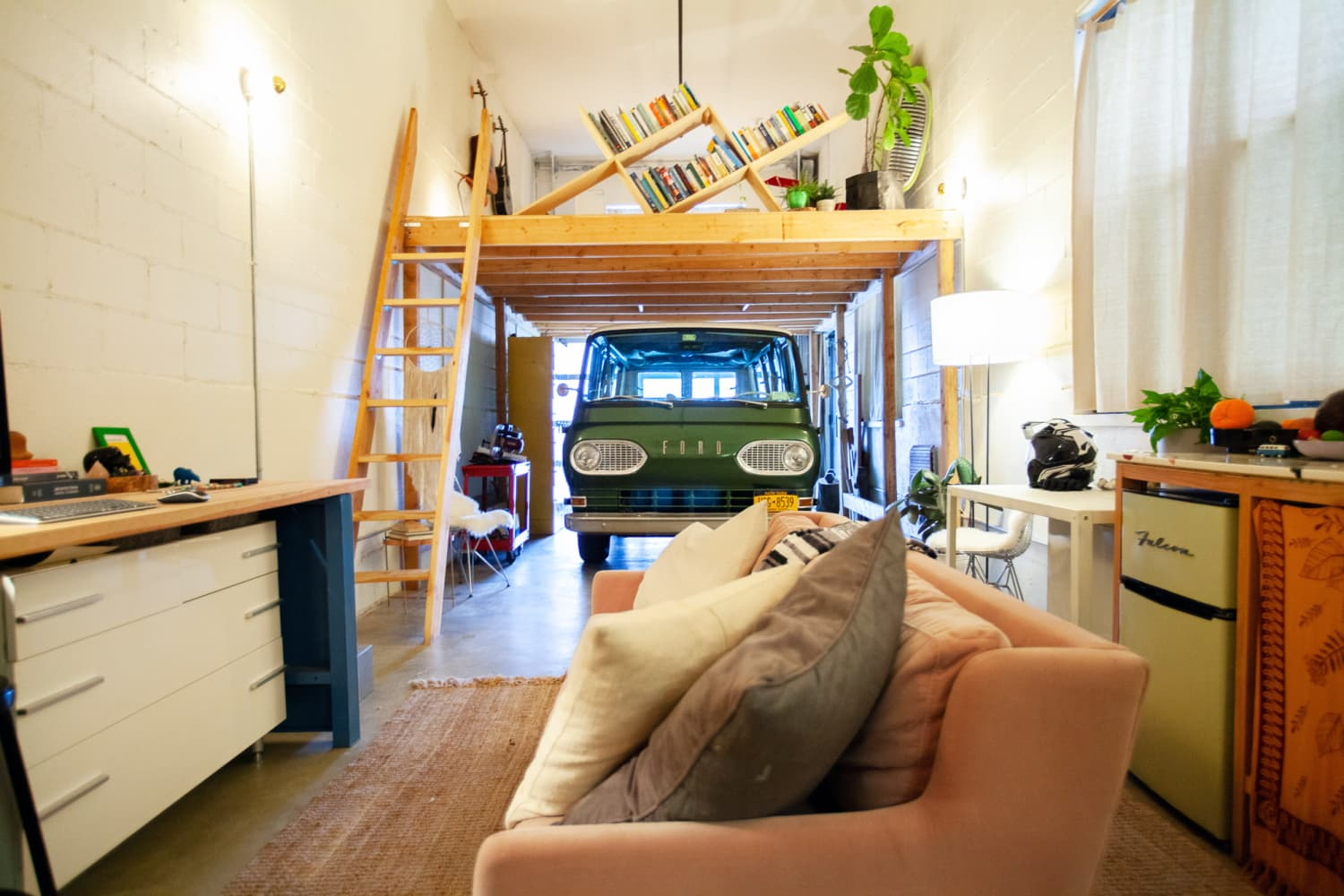This Architect Customized a Brooklyn Studio for Her 1960s Van