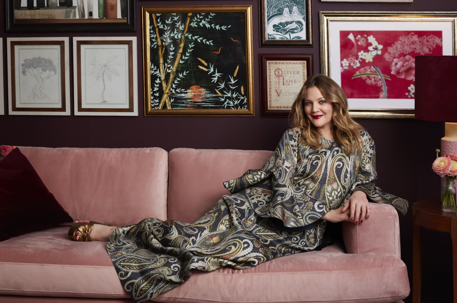Surprise! Drew Barrymore Just Launched a Home Line With Walmart and Wow, We Want it All