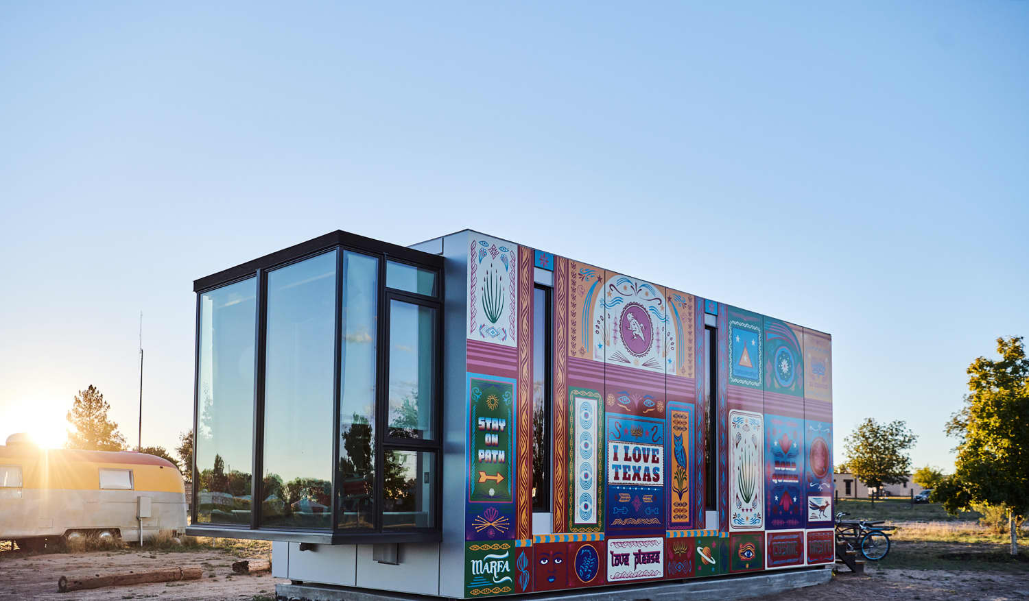 This 325-Square-Foot Tiny House in the Texas Desert Is Out of This World