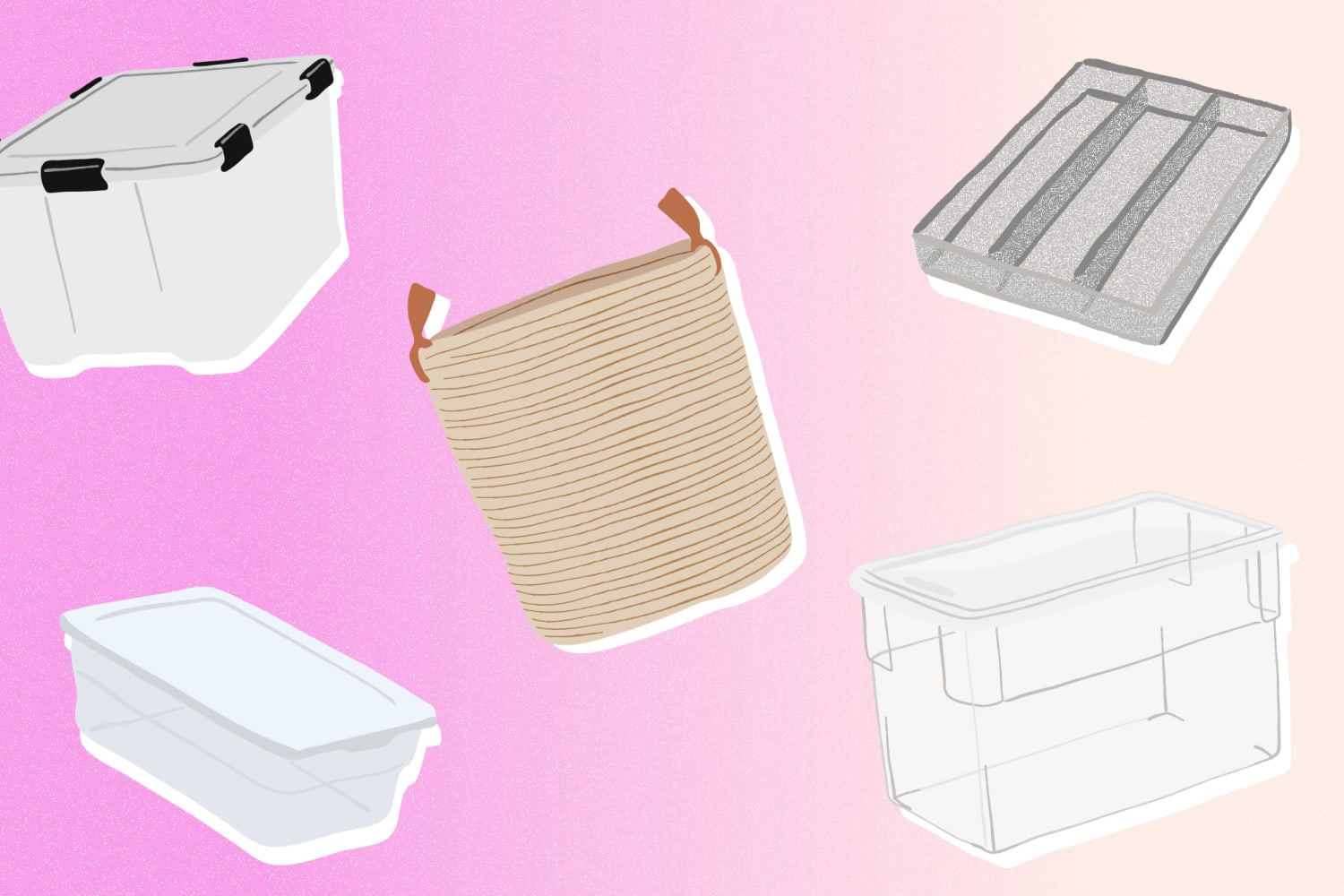 This Handy Flow Chart Explains What Kind of Storage Containers to Use