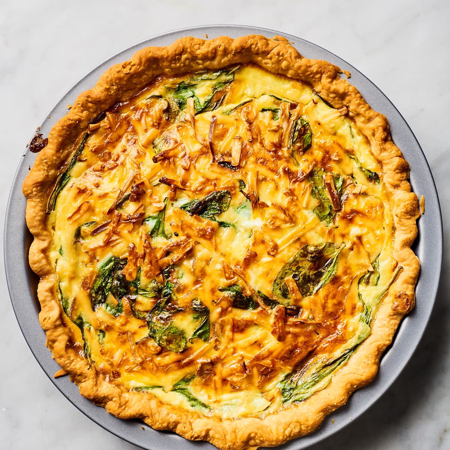 Spinach Quiche Recipe Kitchn