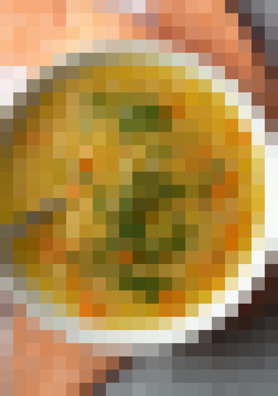 Pumpkin Pie in a Mug, Pull-Apart Cheese Bread, Red Lentil Soup, Lamb Rogan Josh & Pretzel Cinnamon Rolls: gallery image 6