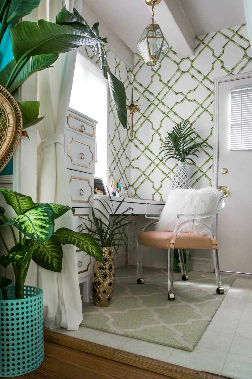 Palm Beach Inspired Office