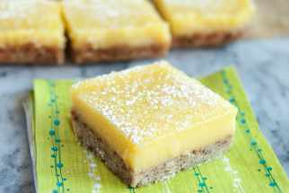 Recipe: Heavenly Lemon Bars with Almond Shortbread Crust