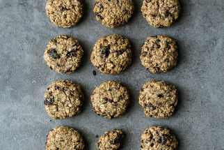 Almond Cherry & Cacao Nib Breakfast Cookies