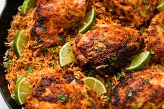 Chili Lime Chicken and Rice