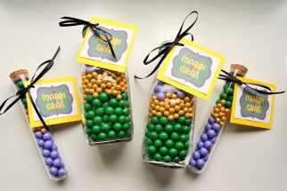 Mardi Gras Candy Favors