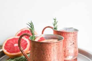 Grapefruit-Rosemary Moscow Mule